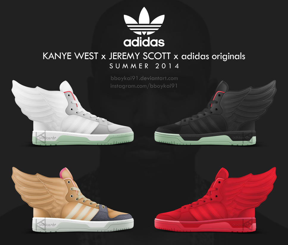 Kanye West x Jeremy Scott x adidas originals Wings by BBoyKai91