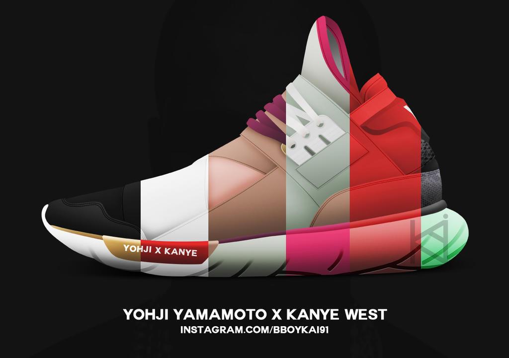 Kanye West x Y-3 Qasa High by BBoyKai91
