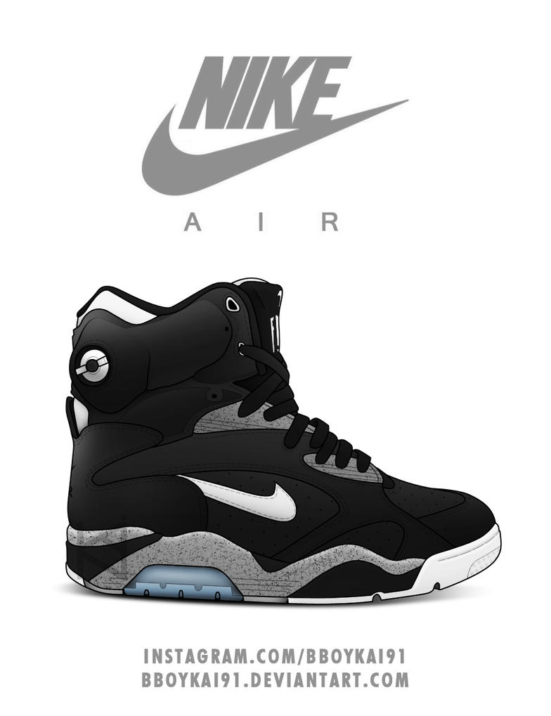 Nike Air Force 180 Black Cement by BBoyKai91 . 91eefc899