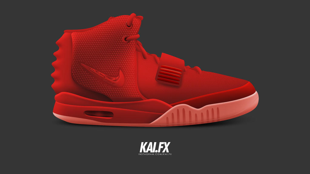 b5c4a543ea5fd Nike Air Yeezy 2 SP  Red October  by BBoyKai91 on DeviantArt