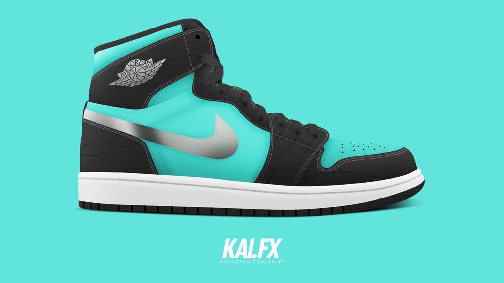 reputable site 3fde2 9b00c Diamond Supply Co. x Nike SB x Air Jordan 1 by BBoyKai91 ...