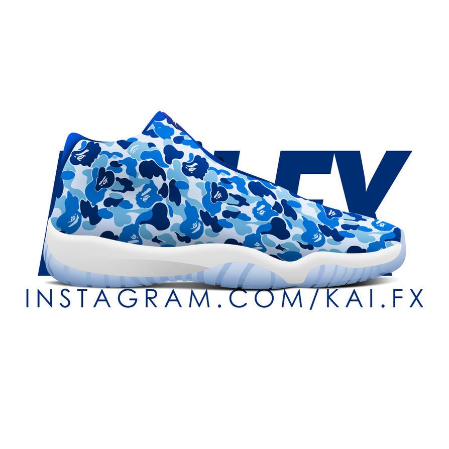 BAPE x Air Jordan Future by BBoyKai91