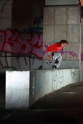 Rollerblader in Bruxelles by Dominicbemag