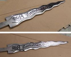 Rumplestiltskin Dagger OUAT unfinished