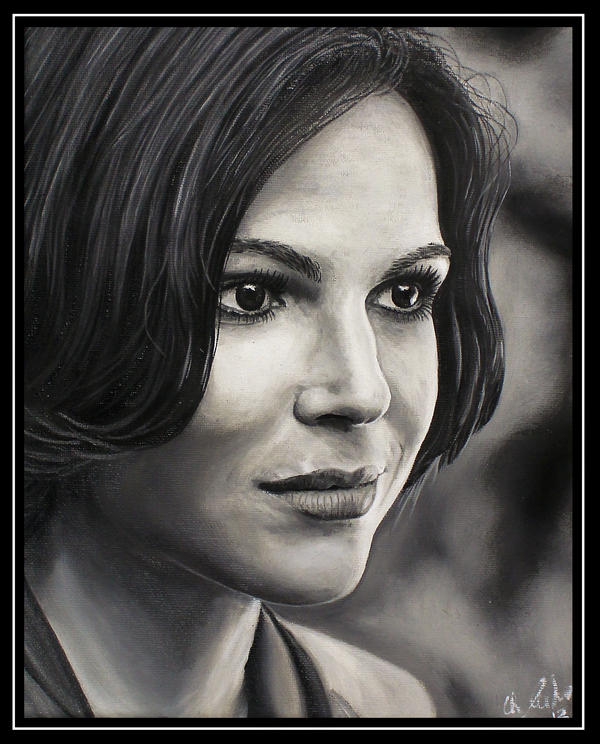 Lana Parrilla Regina Mills Evil Queen by Woolf83