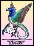 Tiny Dragon Smaugust- Hummingbird