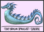 Tiny Dragon Smaugust- Seahorse