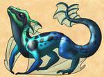 Dragon Design- Poison Dart Frog