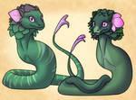 Dragon Design- Purple Deadnettle and Henbit