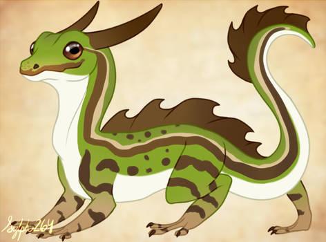 Dragon Design- Common European Frog