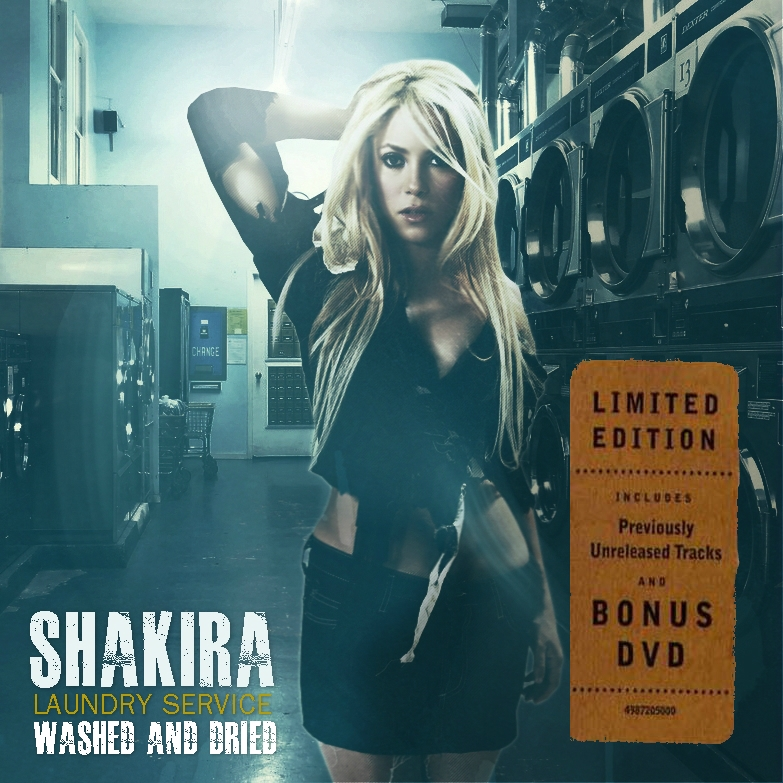 Shakira - Laundry Service (Washed And Dried) by antoniomr ...