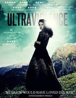Lana Del Rey - Ultraviolence (Album Poster) by antoniomr