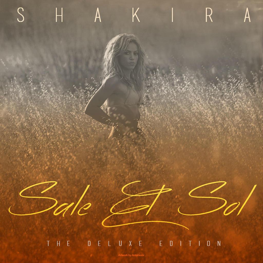 Shakira - Sale El Sol (Deluxe Edition) by antoniomr on DeviantArt