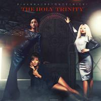 Rihanna,Beyonce and Nicki Minaj - The Holy Trinity by antoniomr