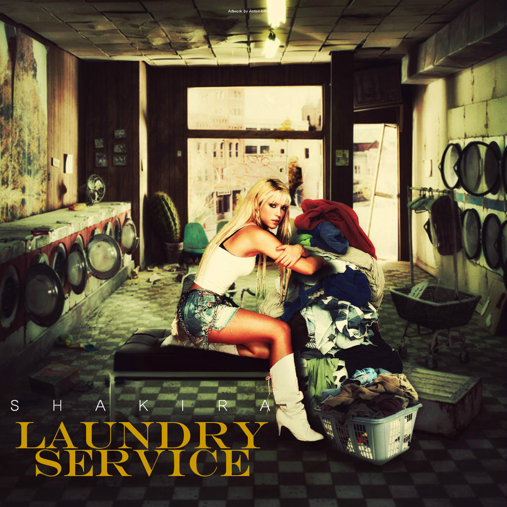 Shakira - Laundry Service by antoniomr on DeviantArt