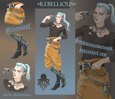 1 OPEN ADOPT Elf REBELLIOUS SB20 USD by Octopus by SnowmanAndOctopus