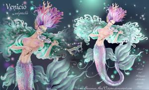 1 OPEN adopt merman Venicio by Snowmanandoctopus by SnowmanAndOctopus