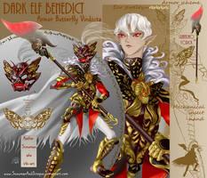 1 OPEN dark ELF Benedict SB 75 USD adopt by SnowmanAndOctopus