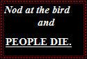 Nod at the Bird by AnimeLoverx2