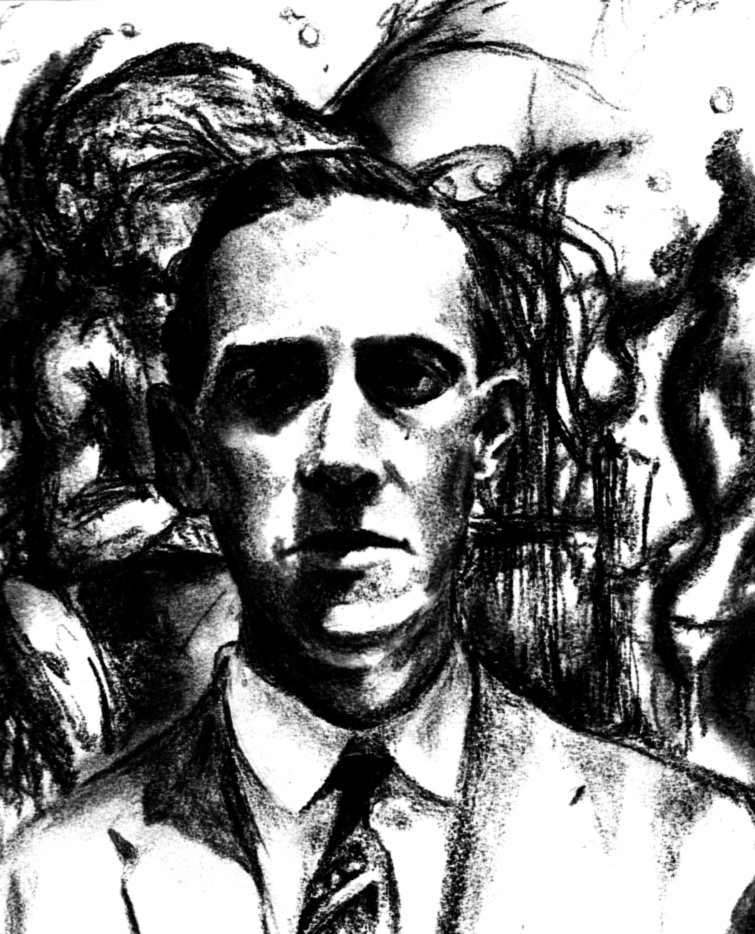Howard Phillips Lovecraft by TheSocietyPage