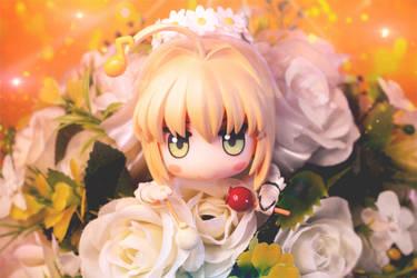 Ikebana Bride by awesomeinfigure