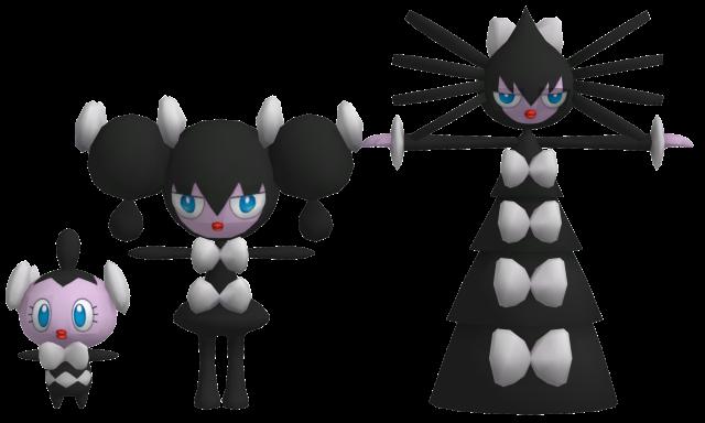 Pokemon - Gothita  Gothorita  Gothitelle by TRDazGothita Evolution