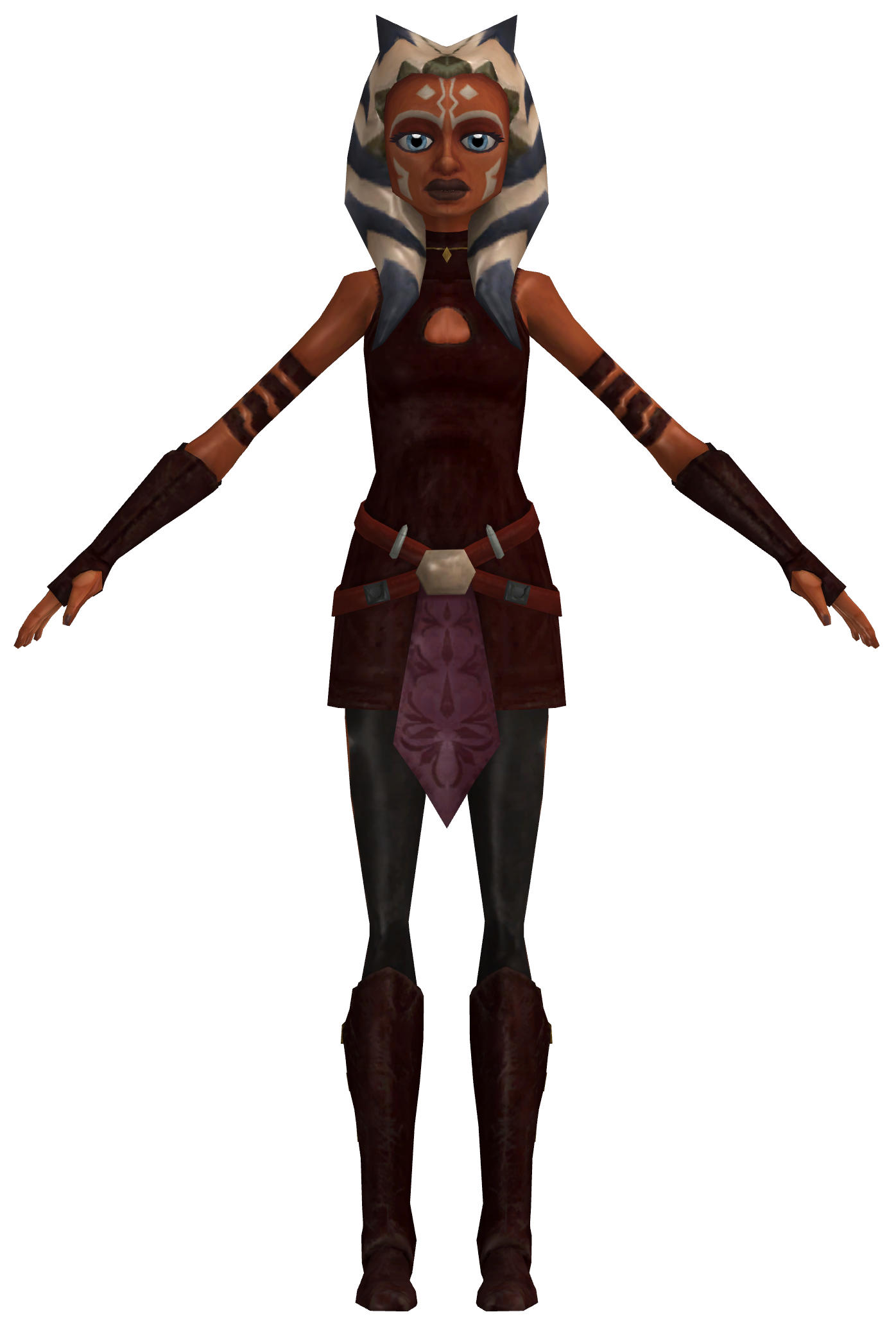 SW Clone Wars Adventures - Ahsoka Tano (S3 Outfit) by ...