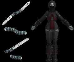 SWCWA - Asajj Ventress (Nightsisters Outfit) by DazzyAllen