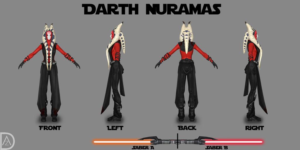 Star Wars OC - Darth Nuramas by TRDaz