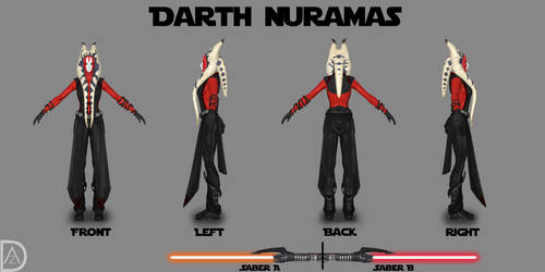 Star Wars OC - Darth Nuramas