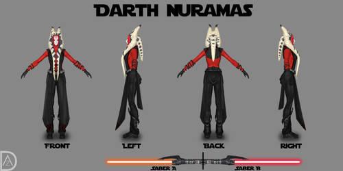 Star Wars OC - Darth Nuramas