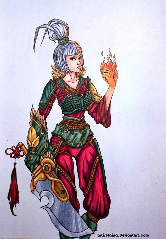 Dragonblade Riven Fan Art