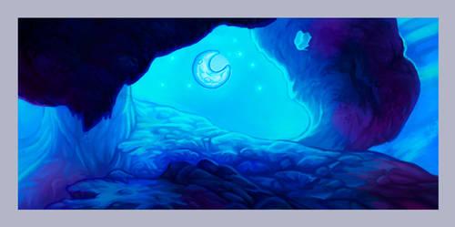 Lunar sea ver. 1 by Artist-LaiNa