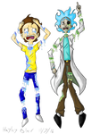 Pastel Gore Rick and Morty