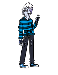 Edgy teen Snow Miser