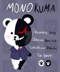 Animal Crossing Monokuma