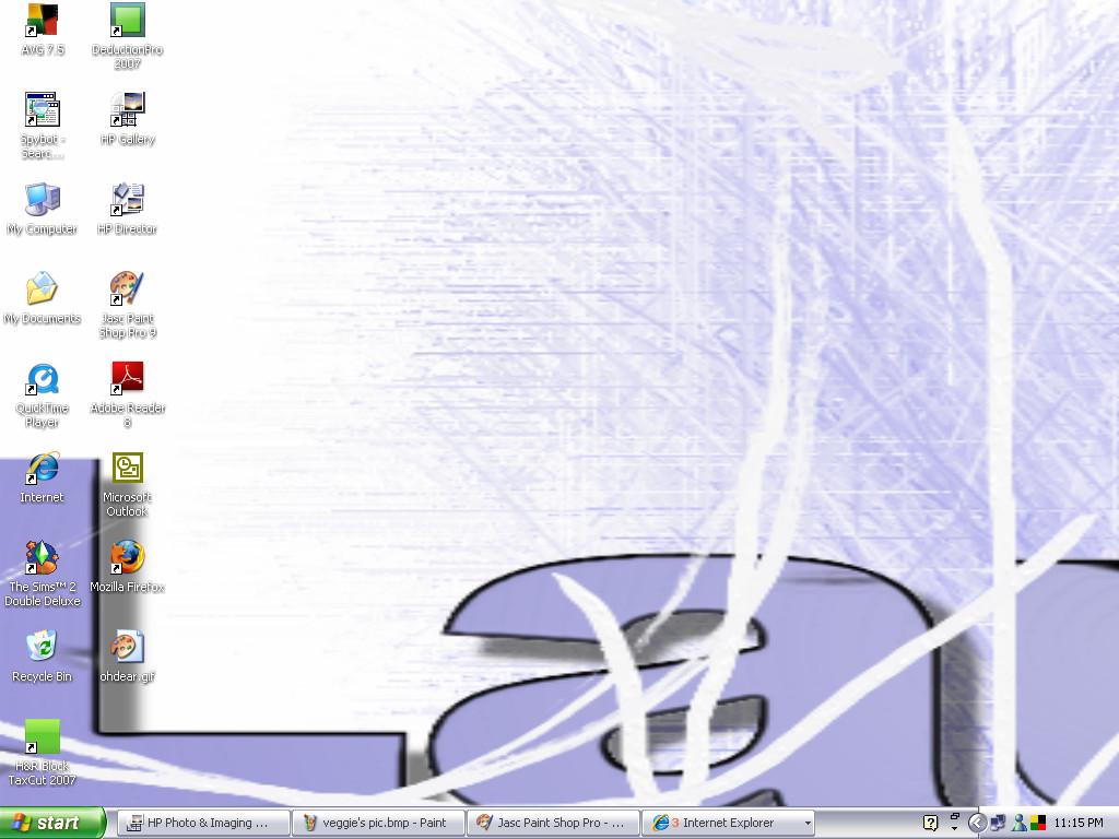New Desktop Picture by blueeyedwoman