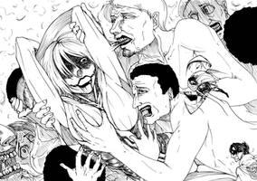 Fanart Female Titan get eat!? by bankgarmo