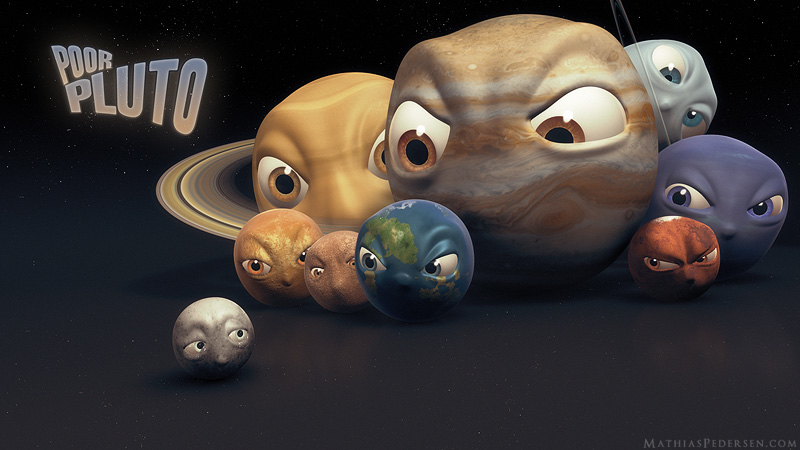 Poor Pluto by TheMhpe