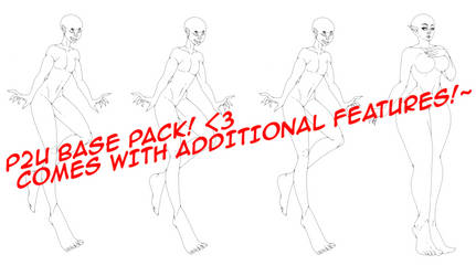 P2U Base pack! Comes with Additional Features!!!