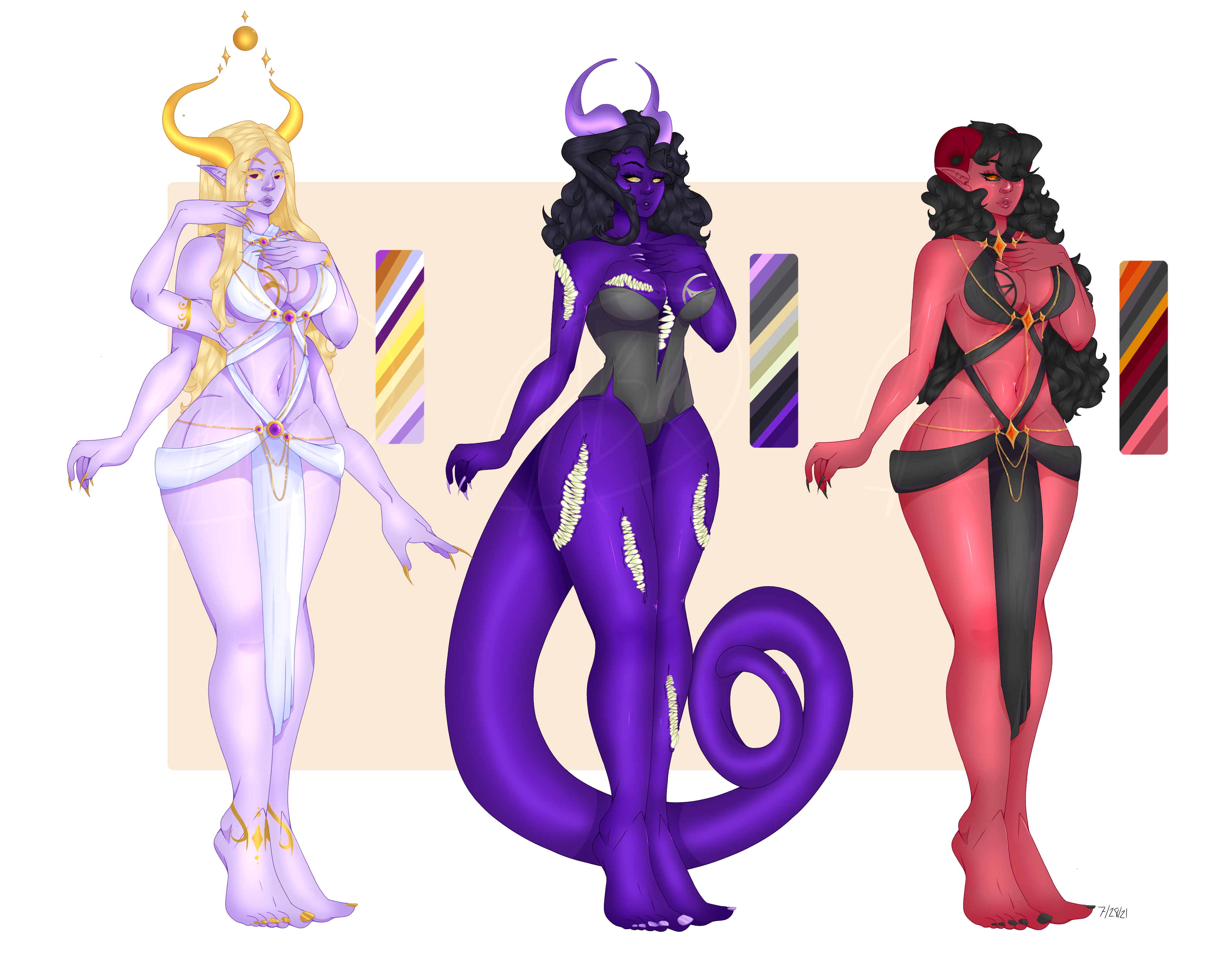 Pick Your Poison! Succubus Adopts (CLOSED)
