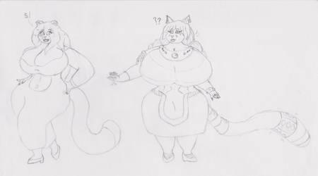 Curvy, classy girls