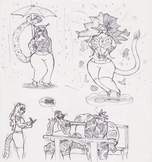 Cat-girls and Krock-chumps