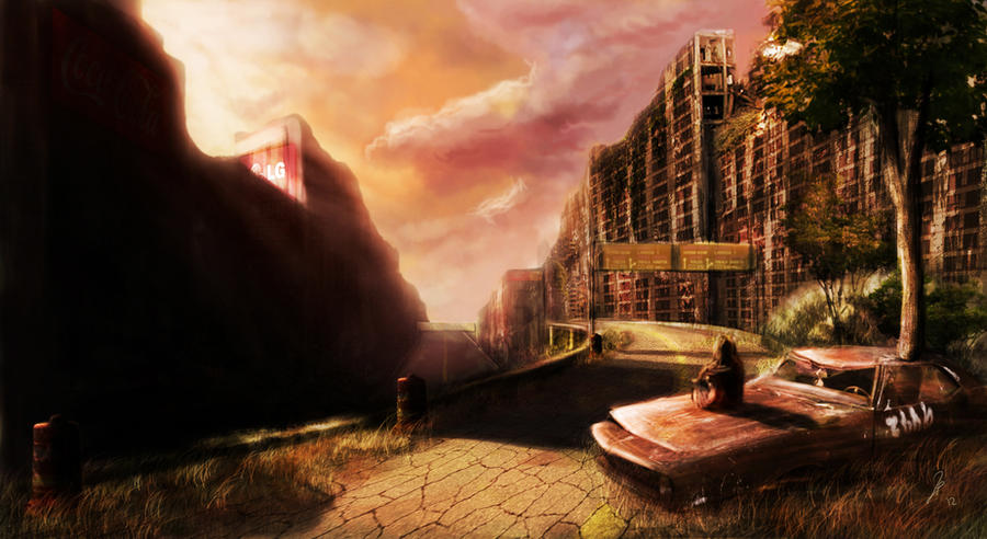Post Apocalyptic City by Rage1793 on DeviantArt