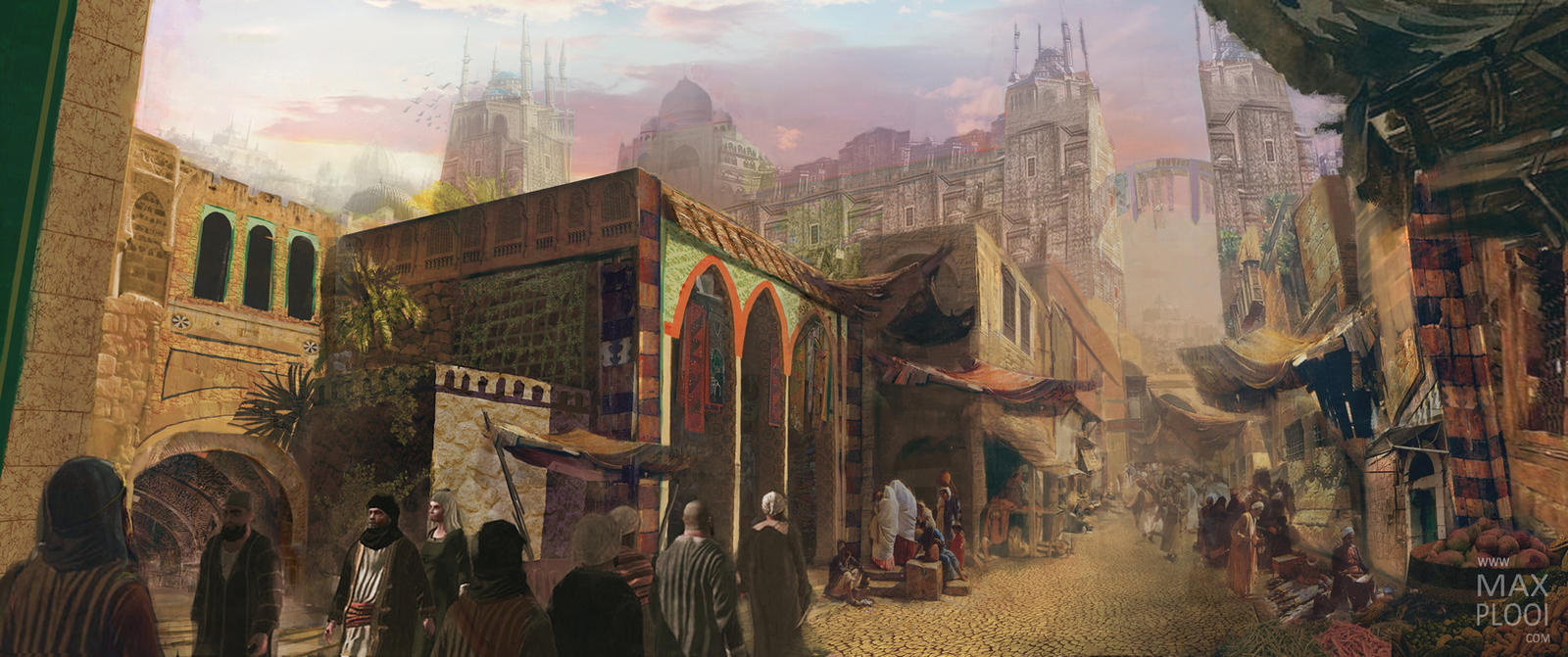 Arab City Street by Rage1793