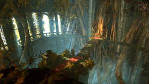 Overgrown Throne Room