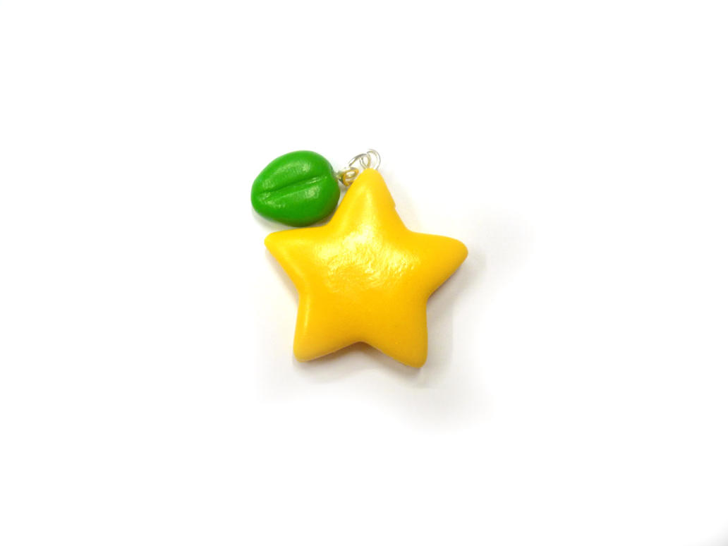 Paopu fruit charm - Kingdom hearts by TenereDelizie