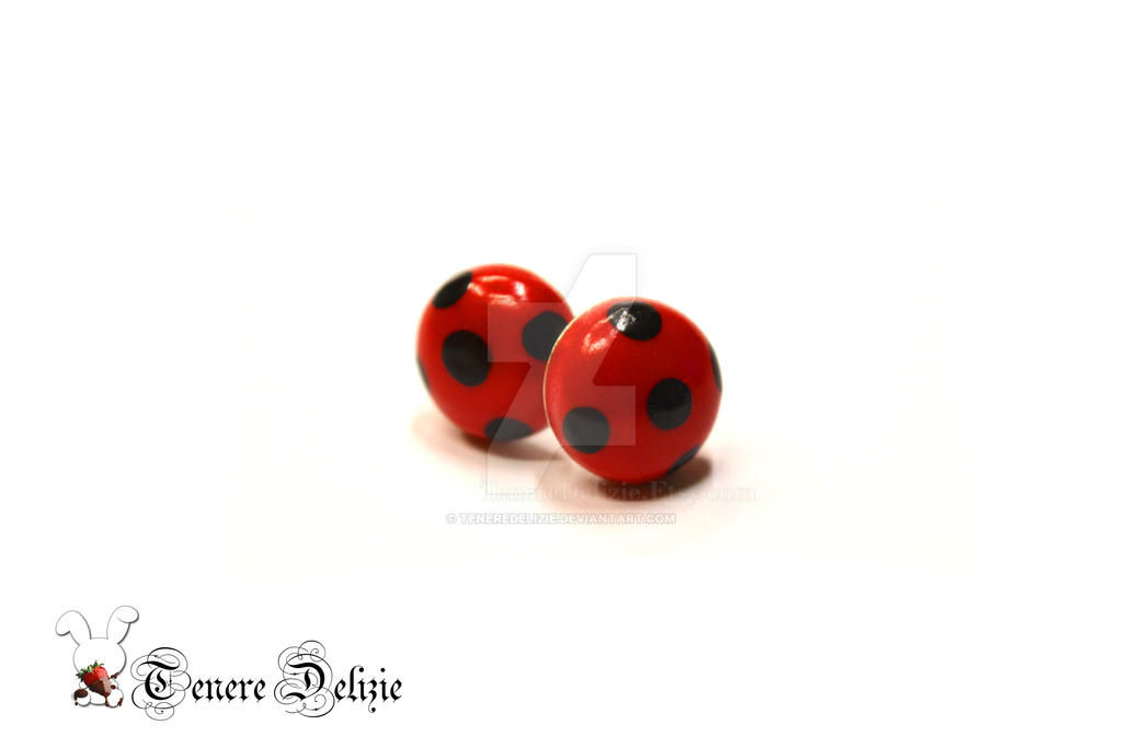 miraculous ladybug earrings marinette s earrings by