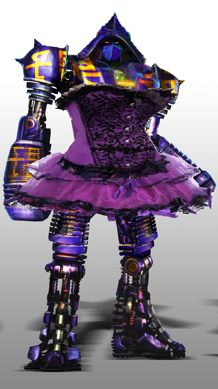 Real Steel - Noisy Boy wear saloon dress by crazygoat20 on ...