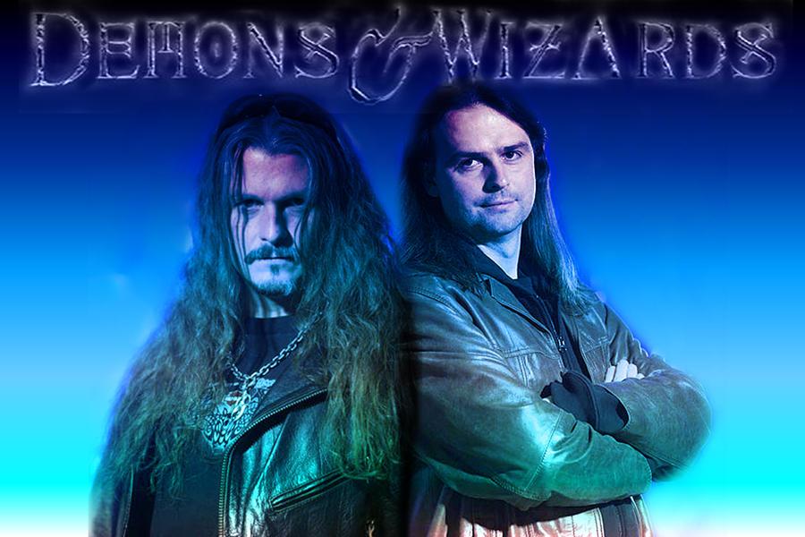 ROCK FEST BCN 2019 - Página 10 Demons_and_wizards_by_hatecrewreaper